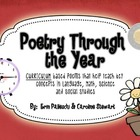 Poetry Through the Year - Based on the Ontario Curriculum