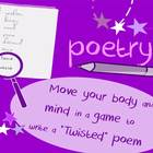 Poetry Twister: interactive, kinesthetic game for high sch