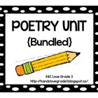 Poetry Unit {Bundled}