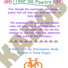 Poetry Unit, Tour de Poetry Stage1