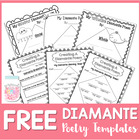 Poetry Writing FREEBIE {Diamante Poetry}