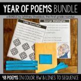 Poetry in the K-2 Classroom {Year Long Plans!}