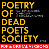 Poetry of Dead Poets Society, Dig Deep to Analyze 3 Poems