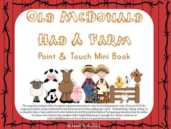 Point & Touch Mini Reader {Old McDonald Had a Farm}