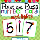 Point and Press Number Cards 1-9 with Lights
