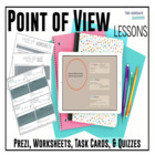Point of View – Complete Unit with Prezi, Novel Passages P
