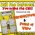 Point of View & Perspective Bee Craftivity (1st Person & 3