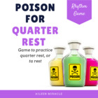 Poison Pattern Set {Quarter Rest}