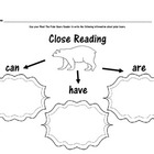 Polar Animals!  Emergent Readers / Animal Tracks Roll and Color