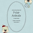 Polar Animals Literature Based Science Unit