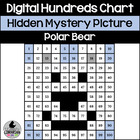 Polar Bear Hundreds Chart Hidden Picture Activity for Wint