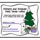 Polar Bear Irregular Past Tense Verbs