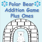 Polar Bear Plus 1's Addition Game