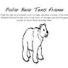 Polar Bear ten frame