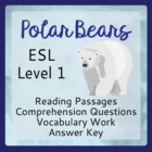 Polar Bears (ESL 1)