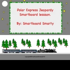 Polar Express Christmas Jeopardy Smartboard Skills Lesson