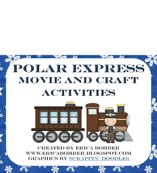 Polar Express Movie and Craft Activities - FREE
