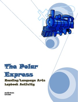 Polar Express file folder/lap book