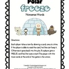 Polar Freeze!  A Nonsense Word Game