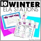 Polar Pals {10 Winter-Themed Literacy Centers}