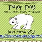 Polar Pals {Arctic Math & Literacy Common Core Centers}