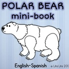 Polar bear mini-book