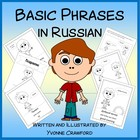 Polite Phrases in Russian - vocabulary sheets and worksheets