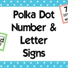 Polka Dot Alphabet and Numbers