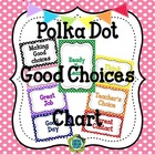 Polka Dot EDITABLE Behavior Management Clip Chart