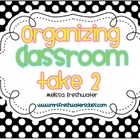 Polka Dot Bin Organizer Labels