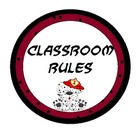 Polka Dot Classroom Rules (w/ Dalmatian Fire Dog)