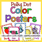 Polka Dot Color Posters