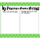 Polka Dot Fantasy Graphic Organizers