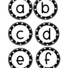 Polka Dot Letter for Your Word Wall