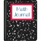 Polka Dot Math Journal Labels