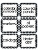 Polka Dot Mega Pack ( Over 170 Classroom Labels)