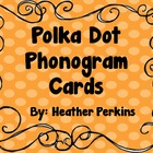 Polka Dot Phonics Cards