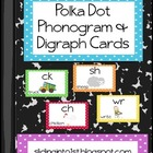 Polka Dot Phonogram & Digraph Cards