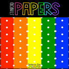 Polka Dot Rainbow Digital Papers {51 backgrounds for perso