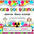 Polka Dot Science {Classroom Themed Materials}