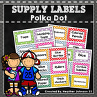 Polka Dot Supply Labels