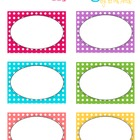 Polka Dot Tags or Labels - Free Printable