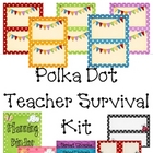 Polka Dot Theme Classroom Kit