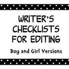 Polka Dot Writer&#039;s Checklist 