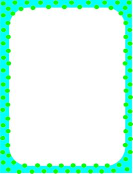 Polka Dots Borders