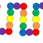 Polks Dot Games color words, number words, basic facts