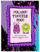 Polygon Monster Food - Math Geometry Vocabulary Activity