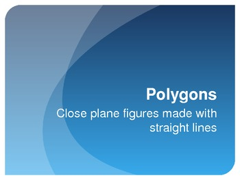 Polygons-Common Core Power Point