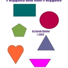 Polygons and Non-Polygons Sort &amp; Posters
