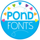 Pond Fonts Mega Pack - Fonts for Personal and Commercial Use